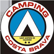 campingcostabrava – Es un cámping pequeño y familiar, rodeado de pinos que proporcionan durante todo el día sombra natural Logo
